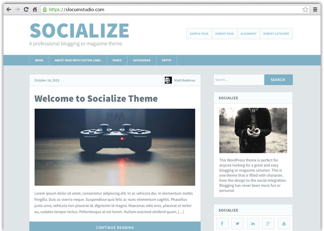 socialize-featured