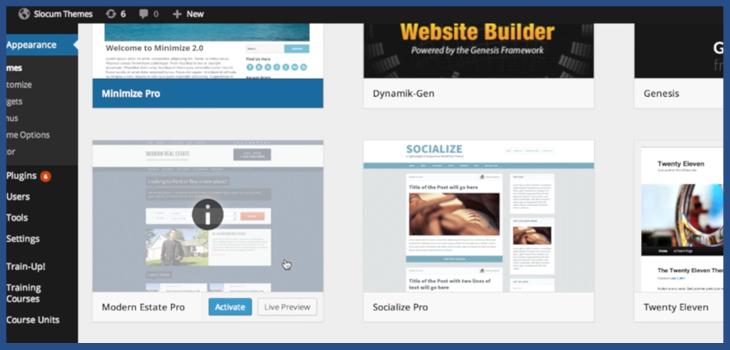 WordPress 3.8 MP6