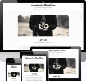 Capture Responsive Photography Theme