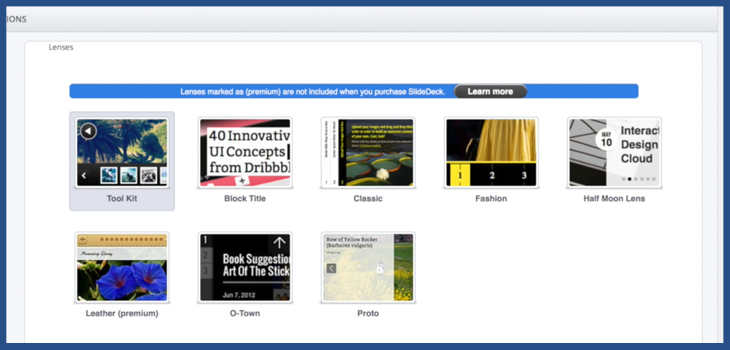 SlideDeck 2 WordPress Slider plugin