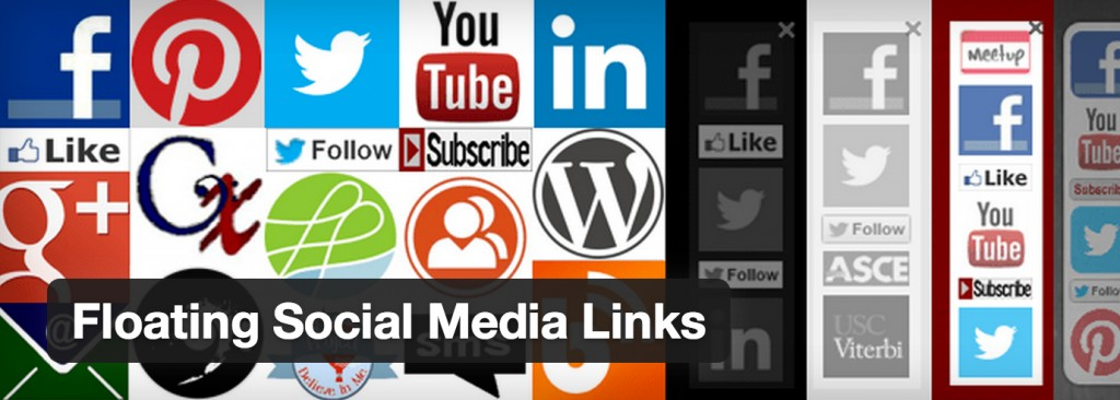 Free wordpress plugin add social media buttons