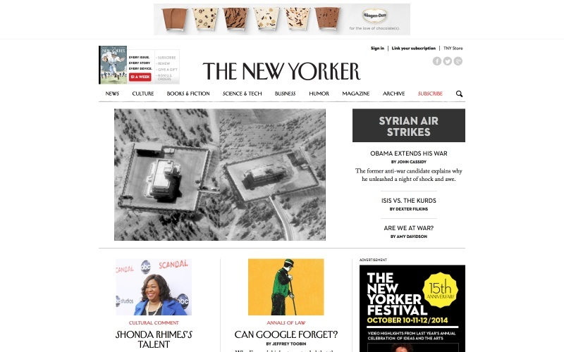 The New Yorker on WordPress