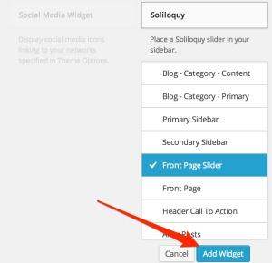 Soliloquy Pro Slider widget