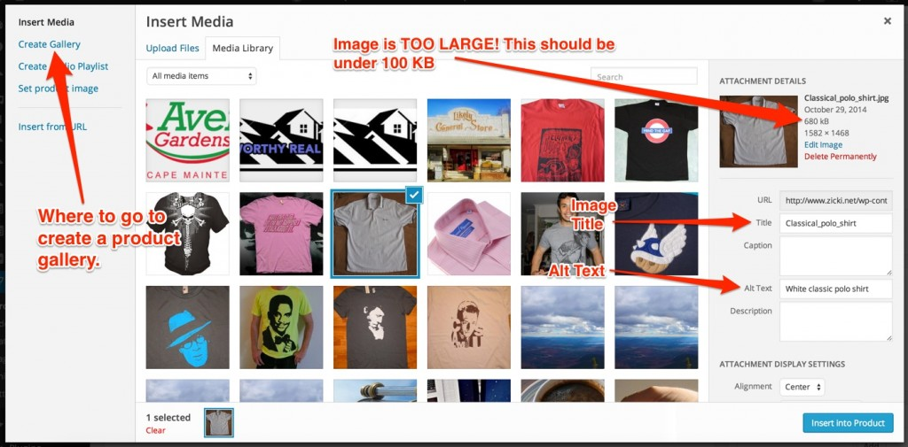 eCommerce image optimization