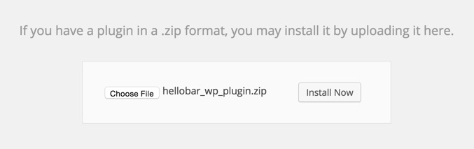 Install a plugin manually WordPress