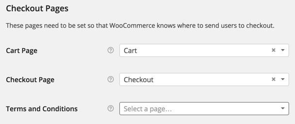 WooCommerce add terms and conditions