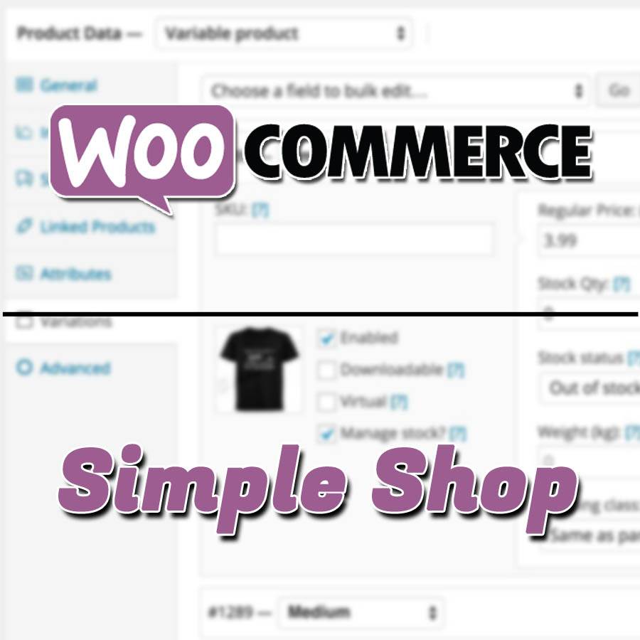 Create physical and digital products WooCommerce