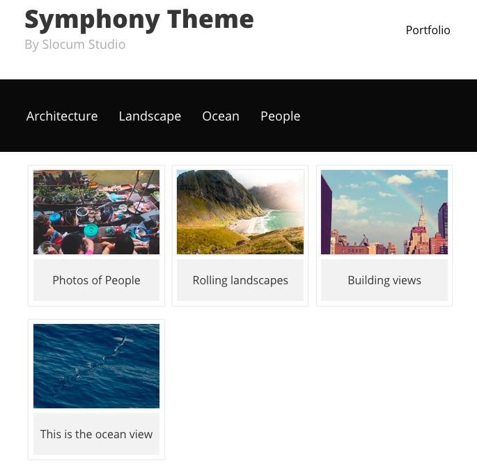 Symphony Pro display